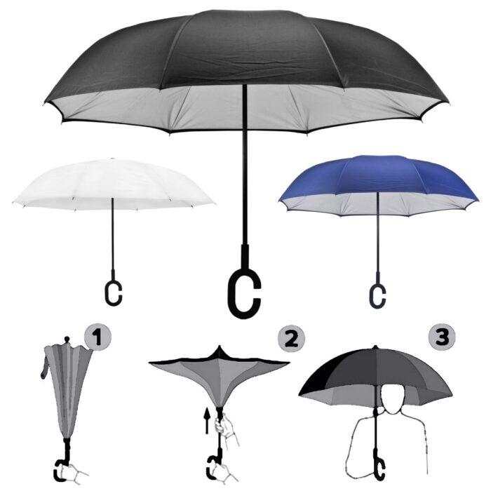 מטריה מתהפכת מטריה הפוכה