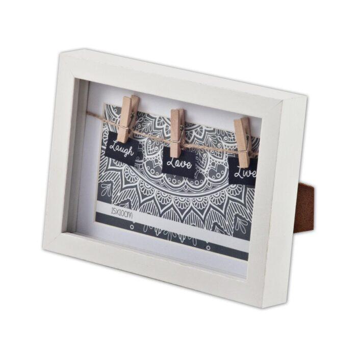טריו - מסגרת לתמונה מעץ