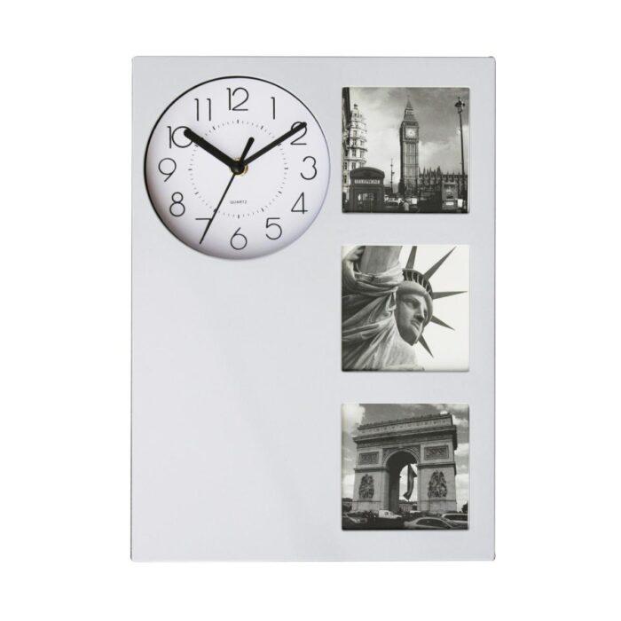 לוגאנו - שעון קיר עם מסגרות לתמונות