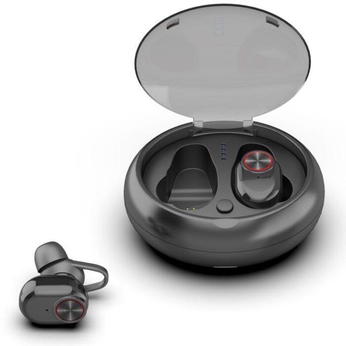 אוזניות כפתור Bluetooth לשמיעת מוזיקה ותקשורת