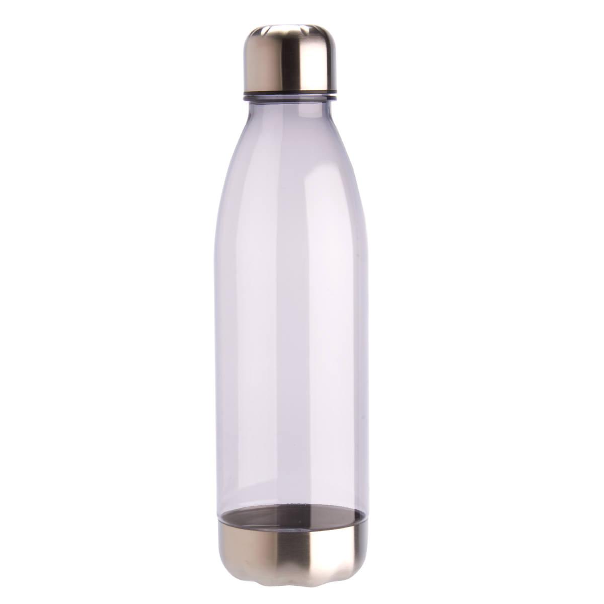 בקבוק שתיה עם פקק הברגה ותחתית מנירוסטה