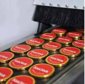מטבעות שוקולד ממותג במארז אישי