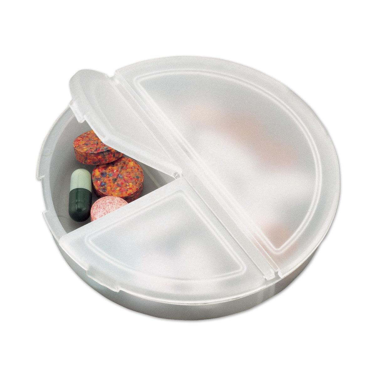 קופסת פלסטיק לכדורים 3 תאים - נוטו