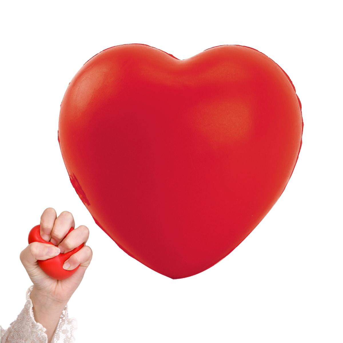כדור לחץ לב אדום - הארטי
