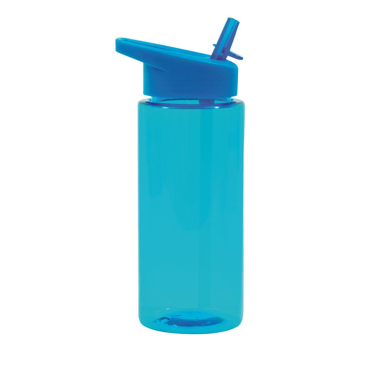 """בקבוק שתייה עם פיה קשיחה וקשית 540 מ""""ל - סידרי"""