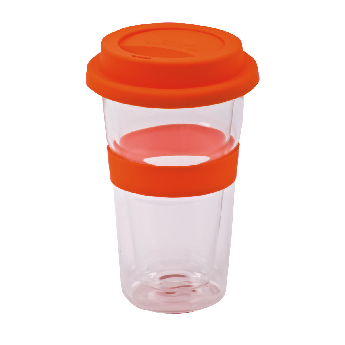 כוס שתיה מזכוכית דופן כפולה - ביקל