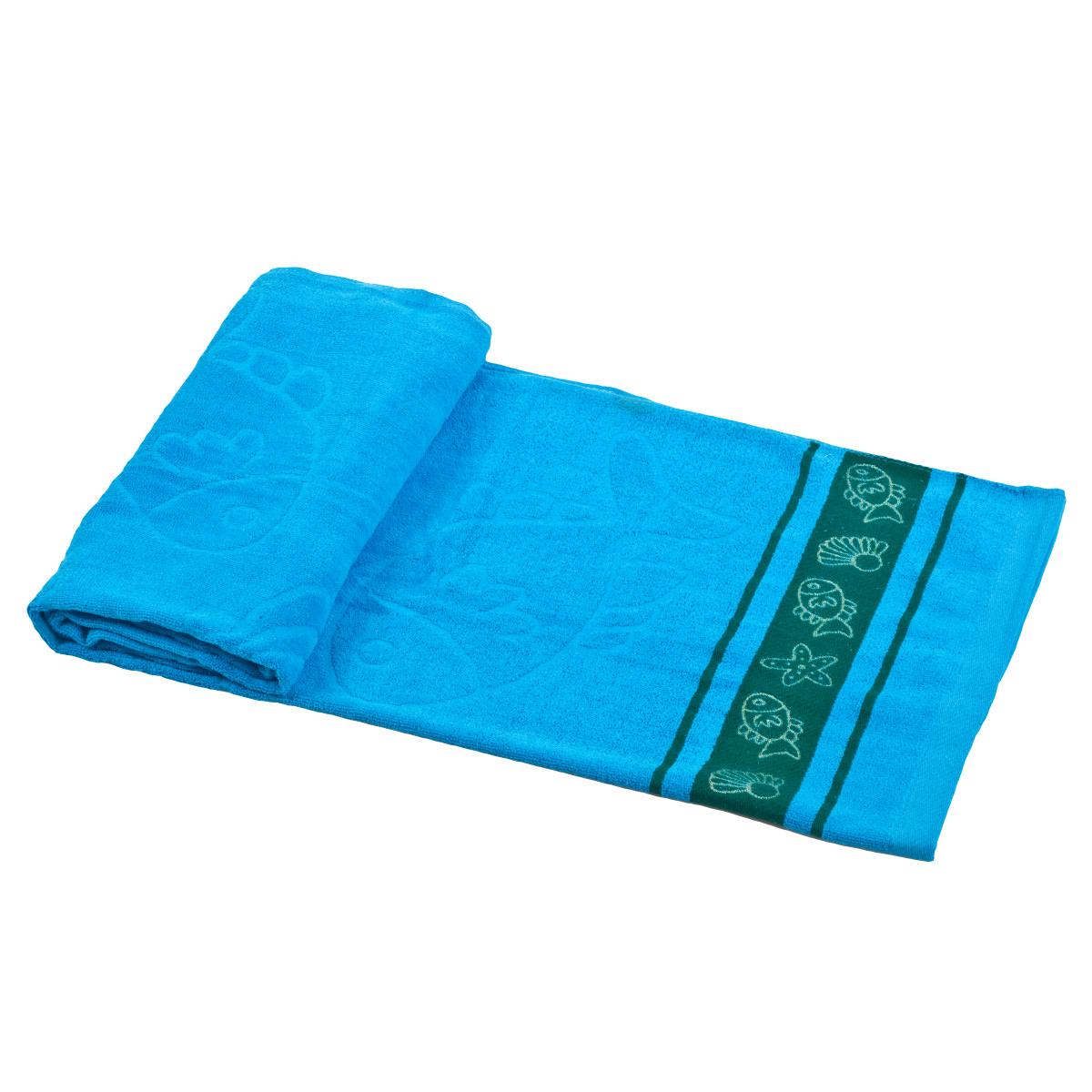 מגבת חוף מכותנה - צדף
