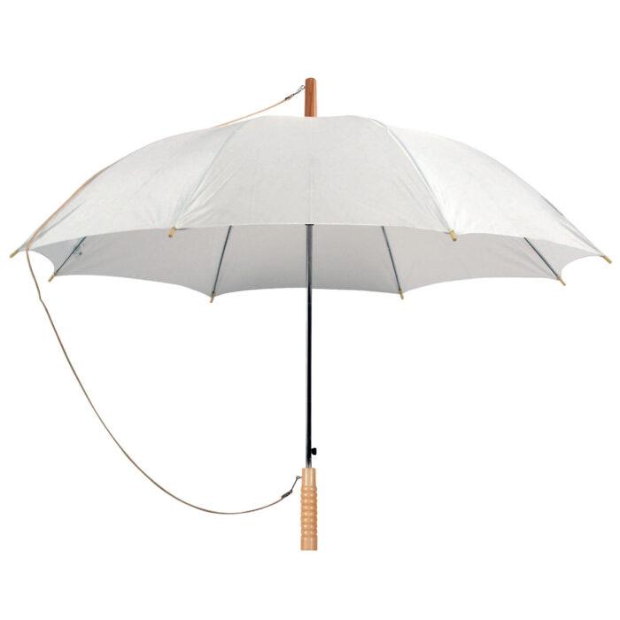 מטריות ממותגות | לבן