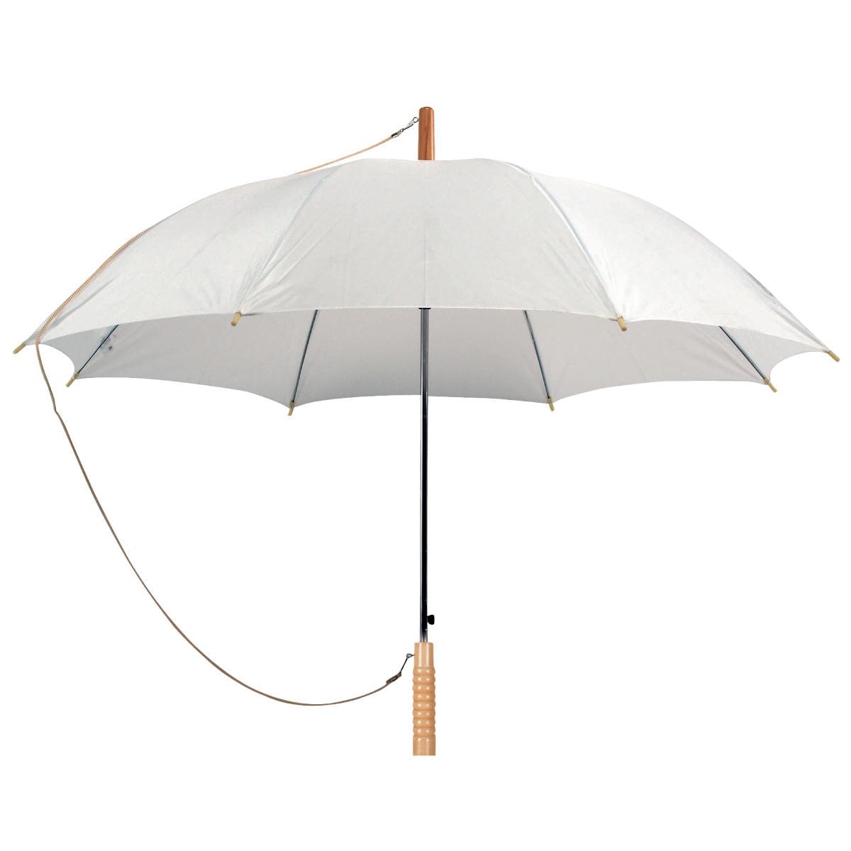 מטריות ממותגות   לבן