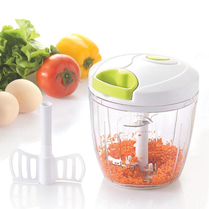 קוצץ ירקות ידני עם חוט משיכה - מאסטר