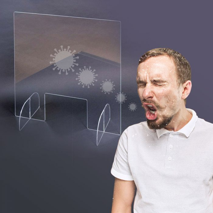 מסך הפרדה שקוף