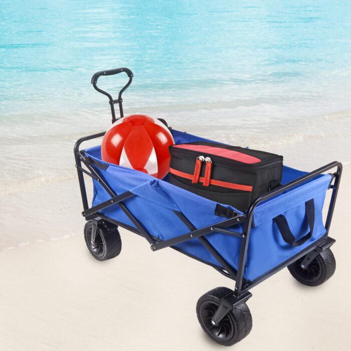 עגלת פיקניק חוף וקניות - קטרפילר