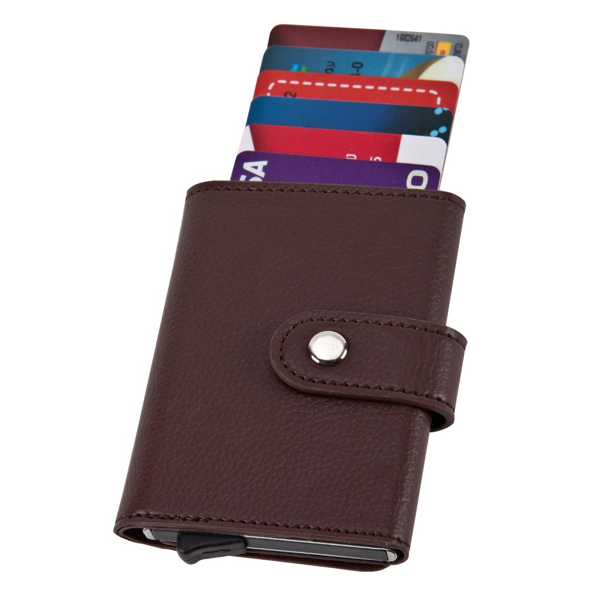 ארנק לכרטיסי אשראי וכסף עם מנגנון שליפת כרטיסים – סלטיק