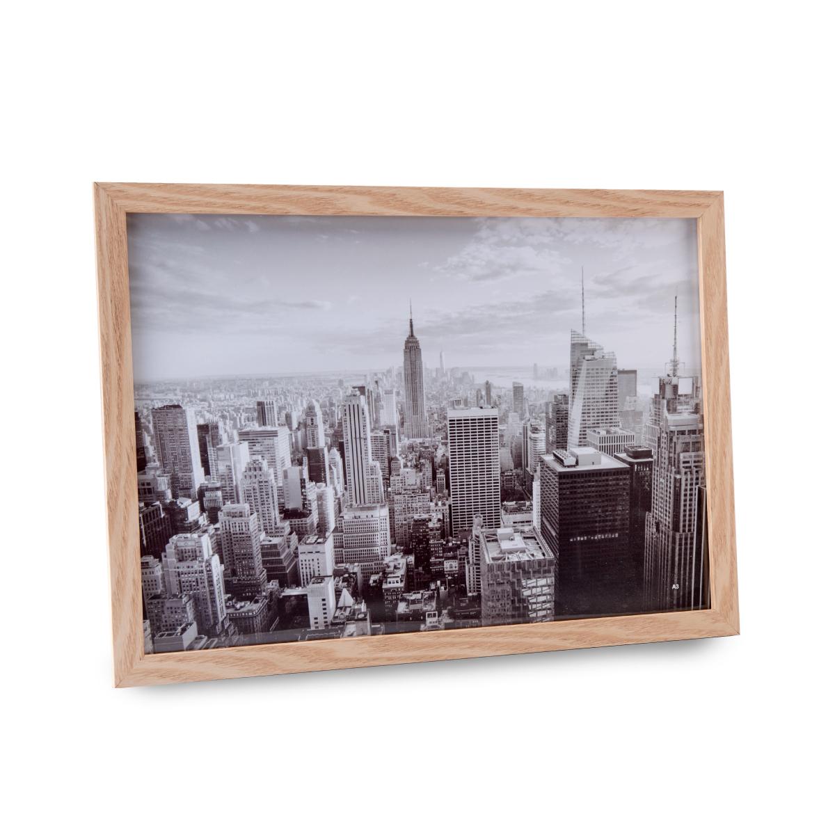 מסגרת לתמונה מעץ וזכוכית – אנטיב