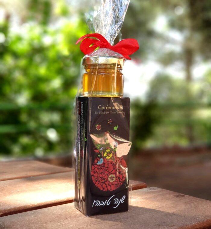 מארז שי לראש השנה - תה ודבש