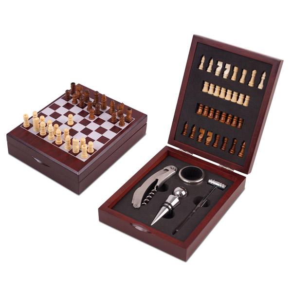 סט אביזרים ליין בשילוב שחמט