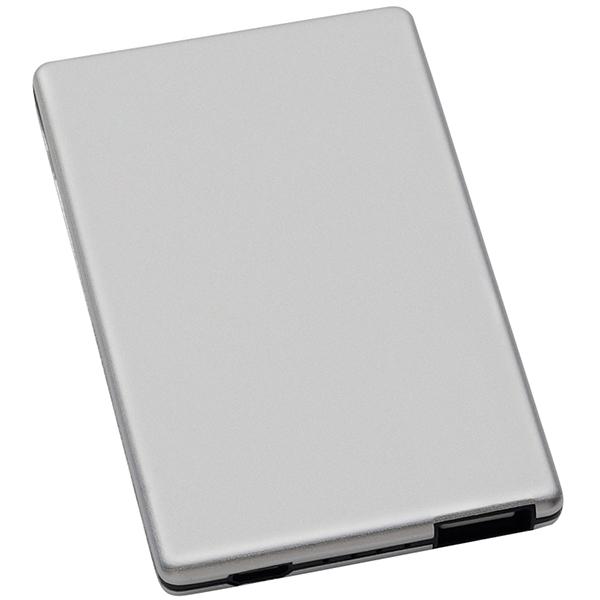 מטען נייד 3,000mAh בצורת כרטיס אשראי