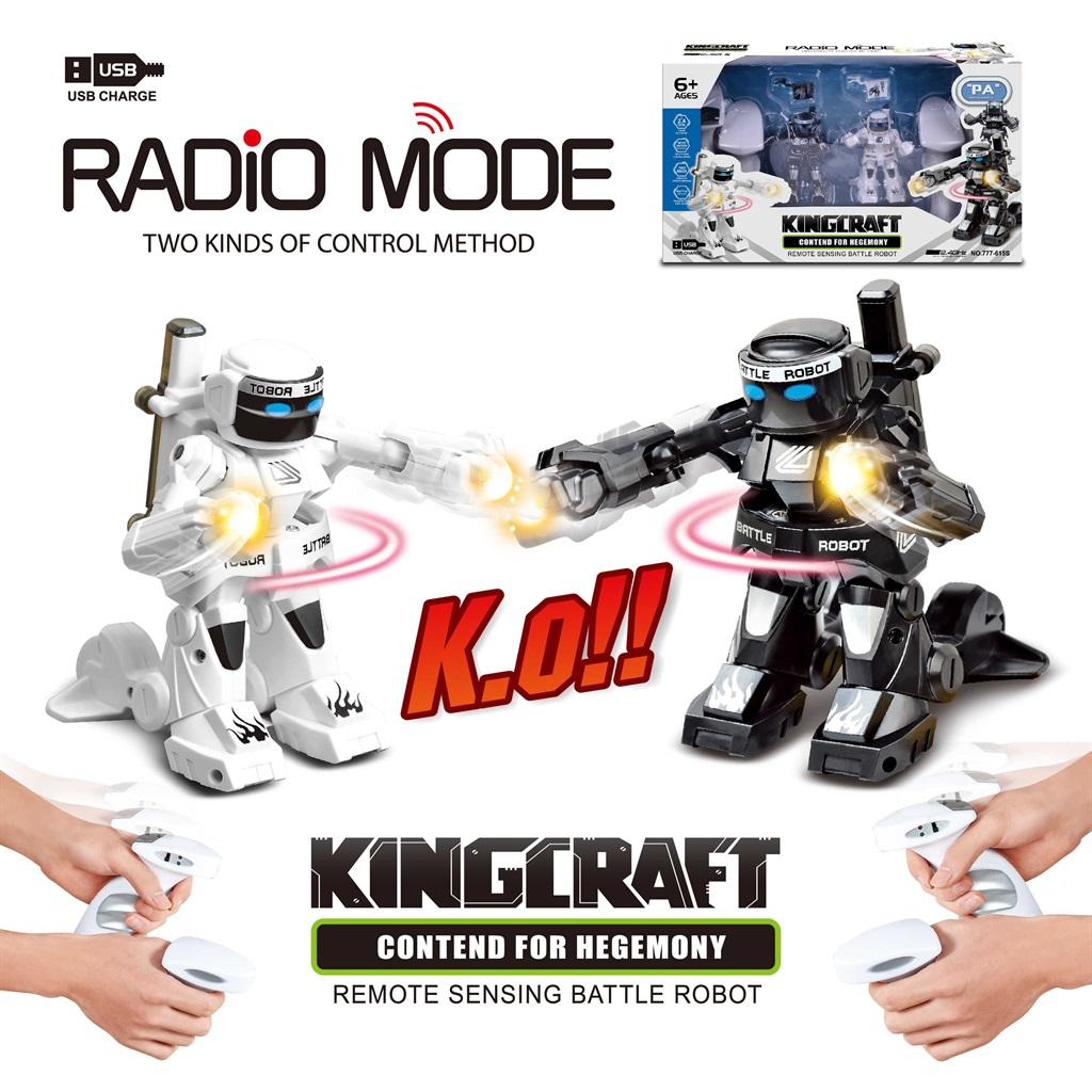 משחק רובוטים היאבקות KingCraft