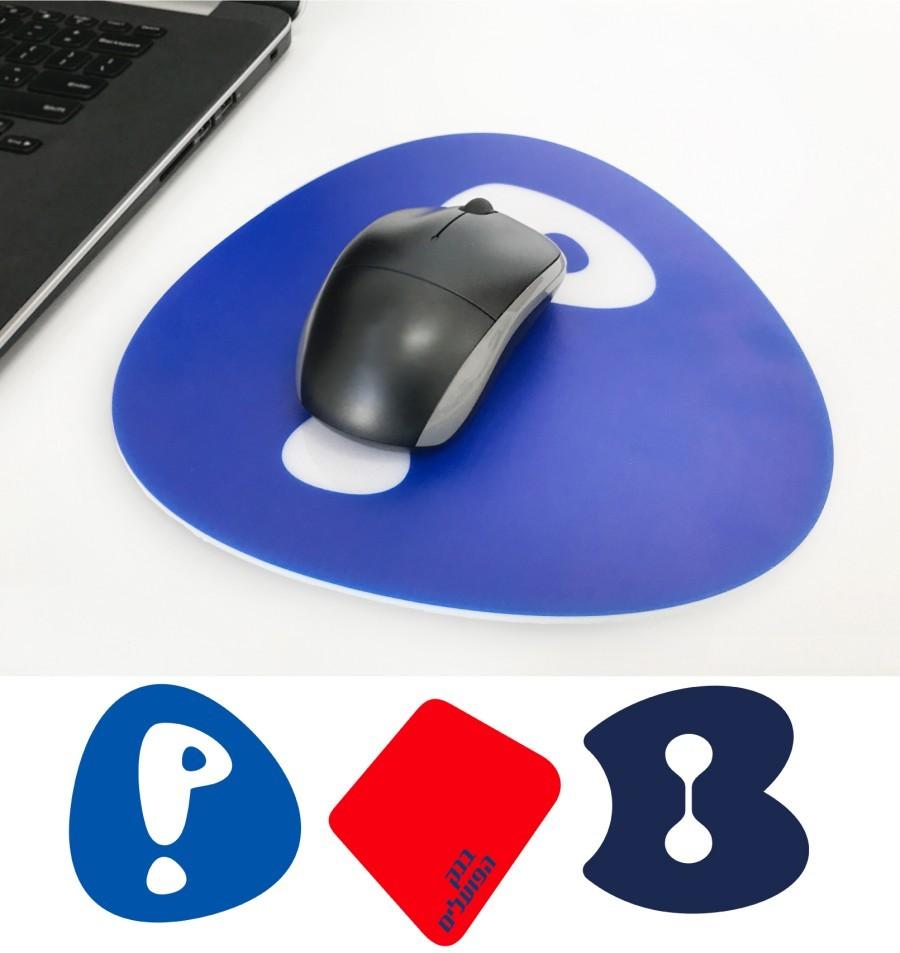 משטח עכבר צורני בעיצוב לוגו חברה - Logo