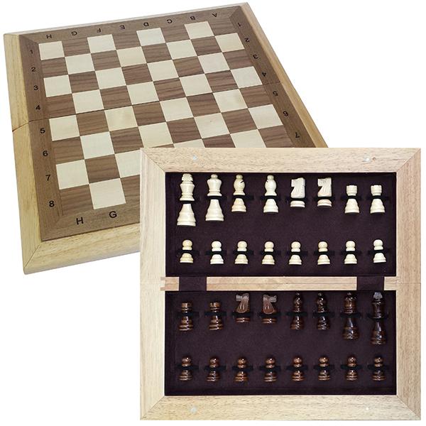 שחמט עץ אלגנטי - צ'ס