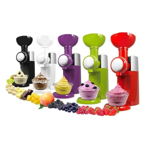 מכשיר ביתי להכנת גלידה פרוזן יוגורט וסורבה - אלזה