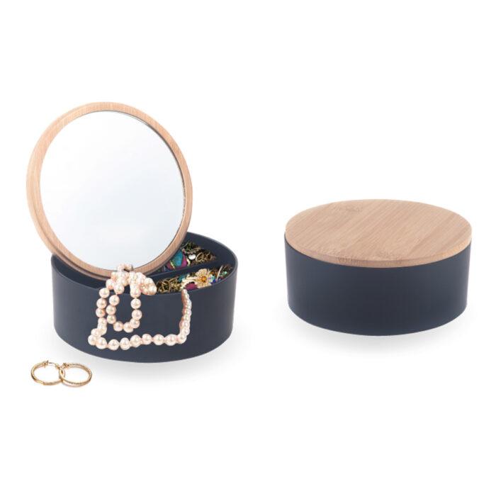 קופסת תכשיטים יוקרתית עם מראה - אמילי
