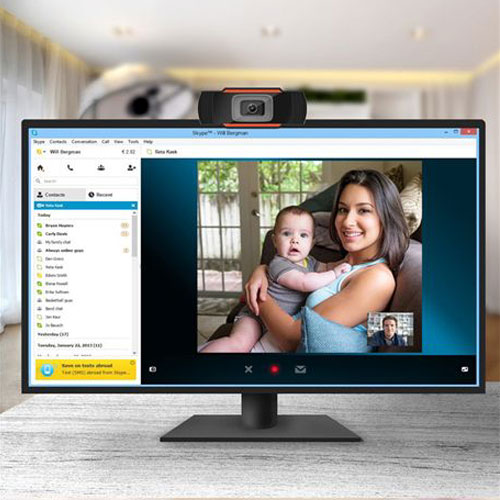 מצלמת רשת HD1080P עם מיקרופון מובנה