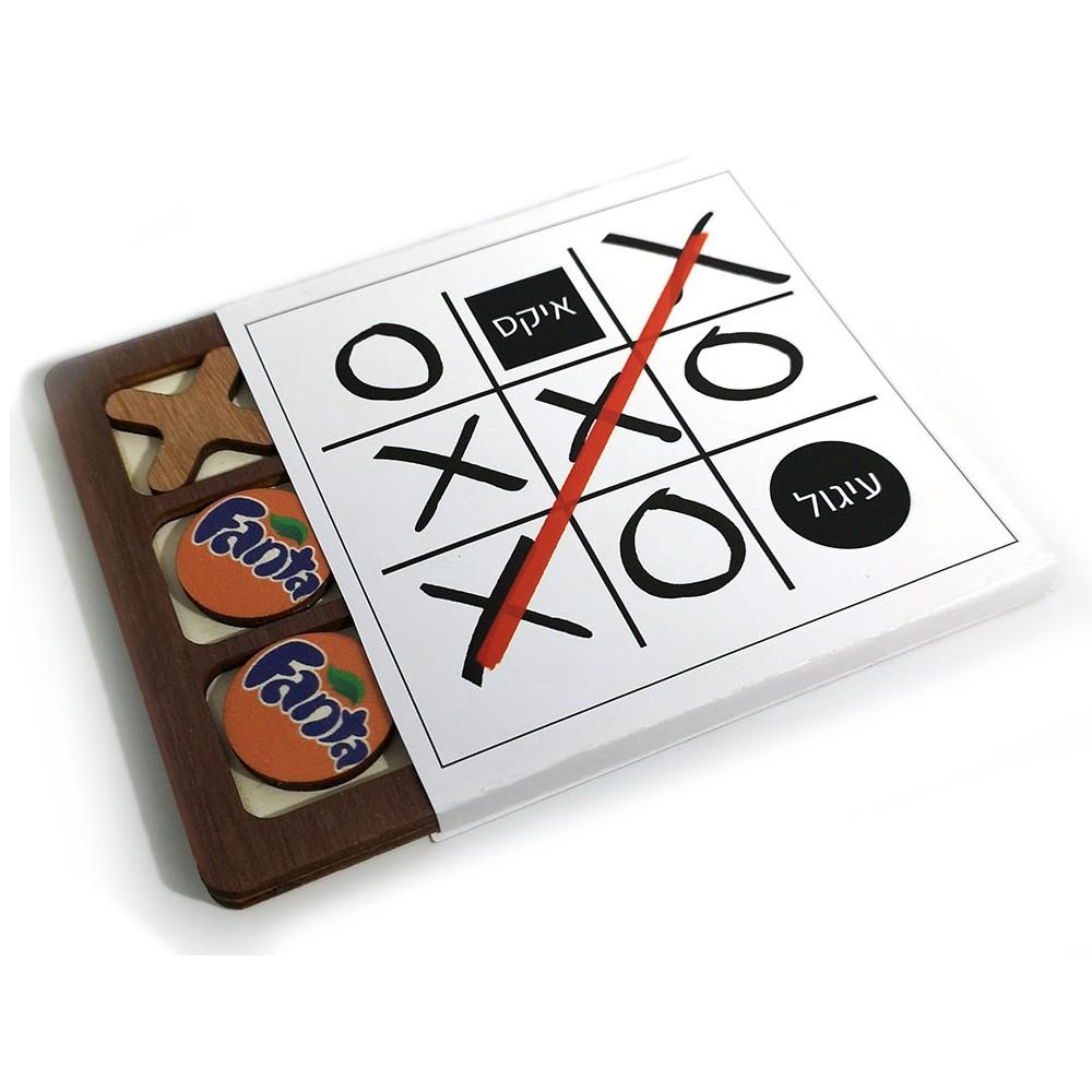 משחק איקס עיגול ממותג