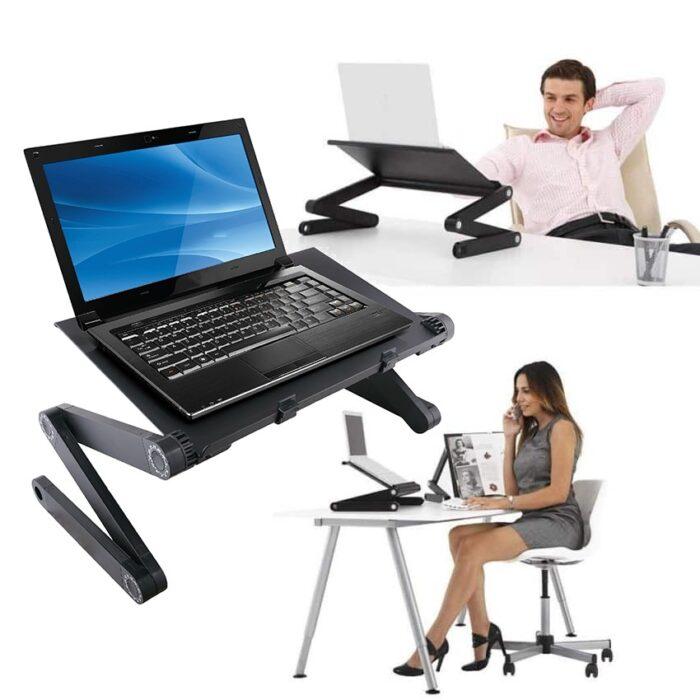 שולחן מתכוונן למחשב נייד