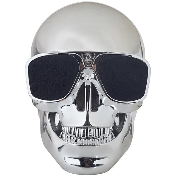 רמקול בלוטות' בעיצוב גולגולת - Skull
