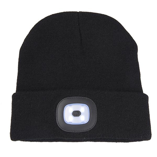 כובע גרב עם תאורת לד