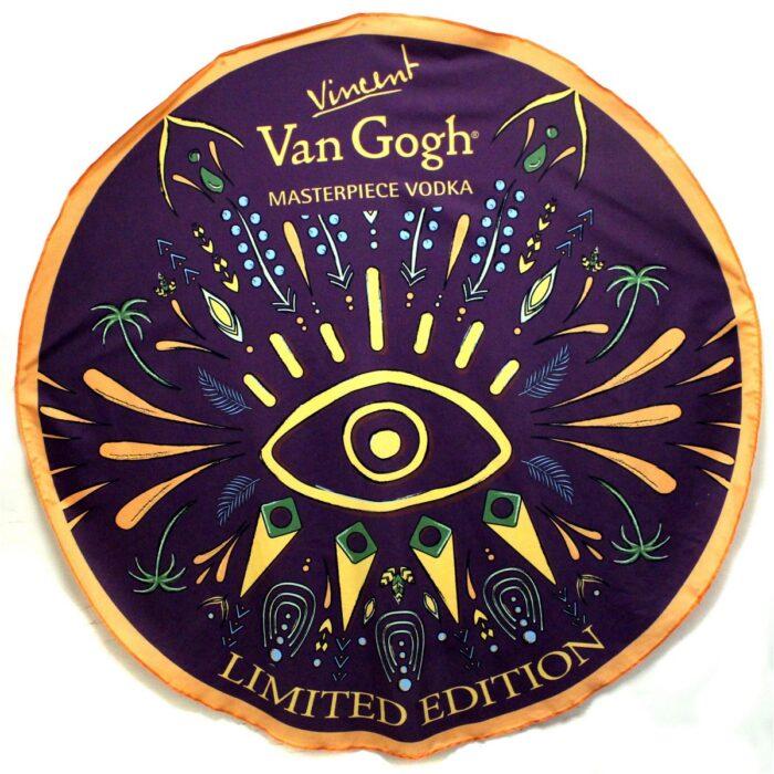 מגבת חוף עם הדפסה צבעונית מלאה - Van Gogh