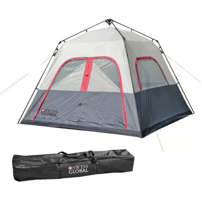 אוהל שטח משפחתי ענק רחב - עד 8 אנשים