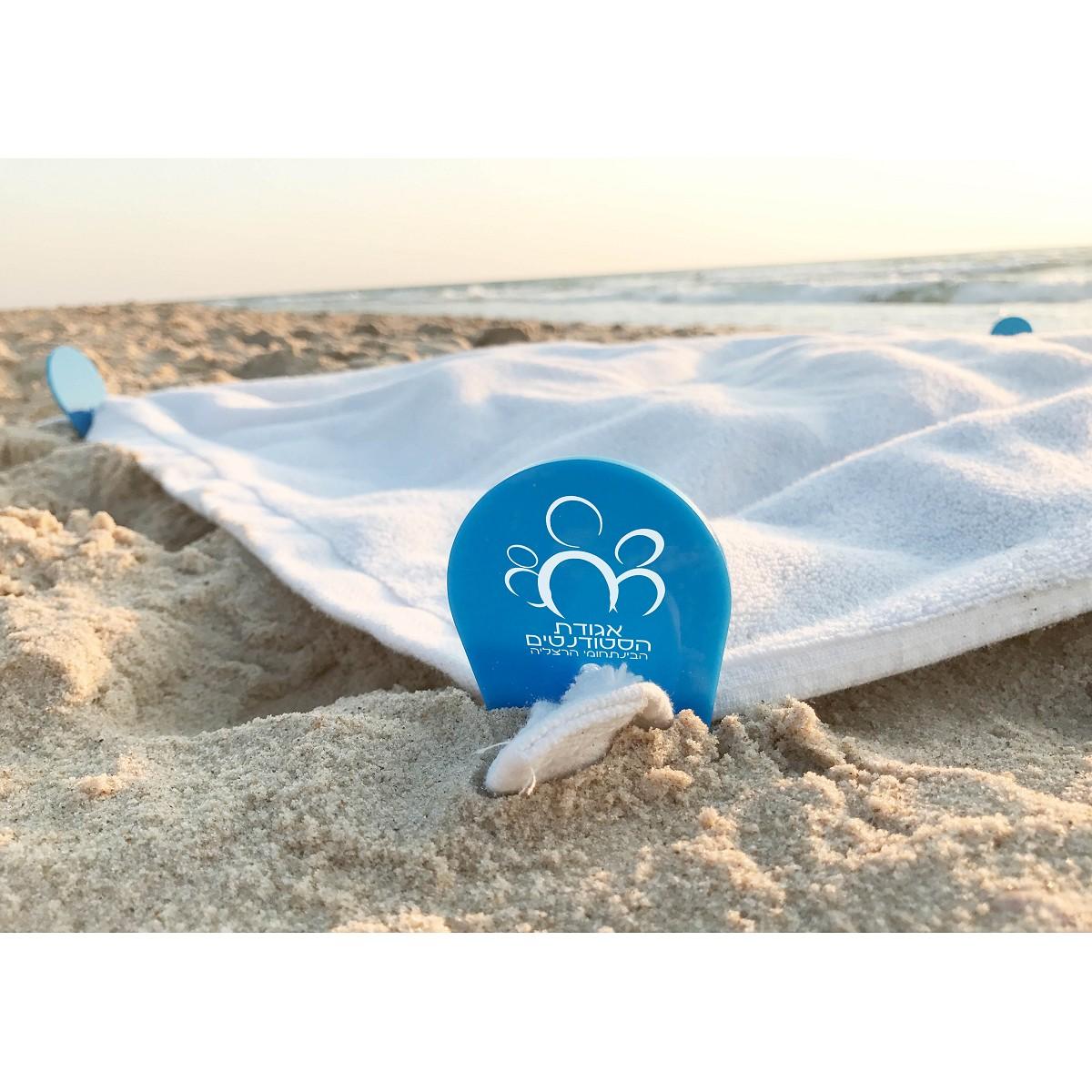 קליפס למגבת חוף - 4 יחידות