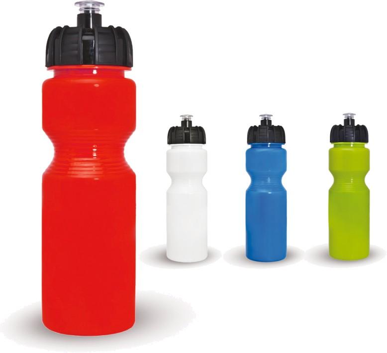 """בקבוק ספורט גמיש עם פיה - 800 מ""""ל"""