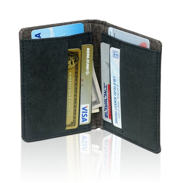 ארנק מעוצב ובטיחותי לכרטיסי אשראי ושטרות - פיימנט