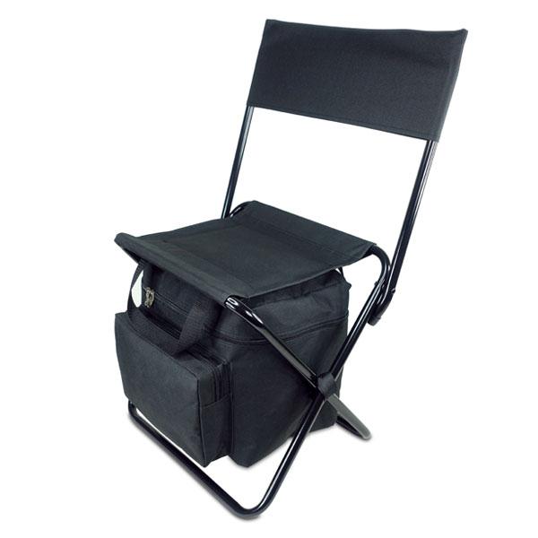 כיסא מתקפל עם משענת משולב צידנית
